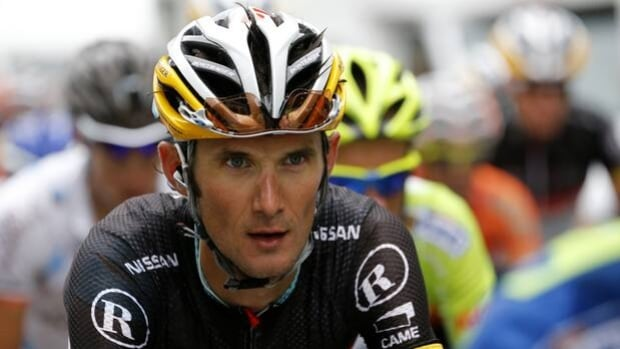 Frank Schleck of Luxembourg denies using a banned diurectic, stating that he was poisoned.