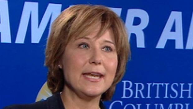 B.C. Premier Christy Clark says she will lead her party into the general election in 2013, despite the Liberals' two byelection losses Thursday.