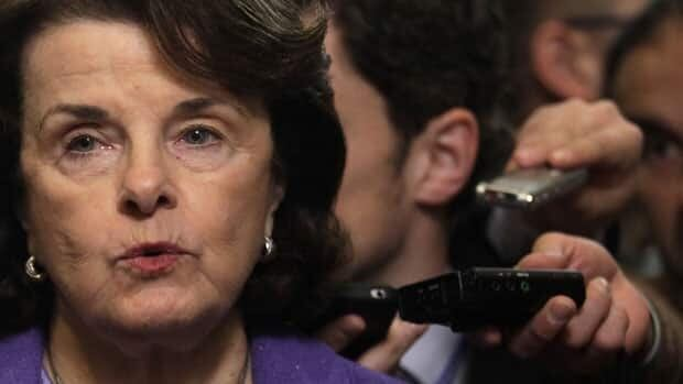U.S. Senate intelligence committee chairman Senator Dianne Feinstein pictured speaking to the media after last week's hearings, said she doesn't believe the White House altered the documents for political reasons.