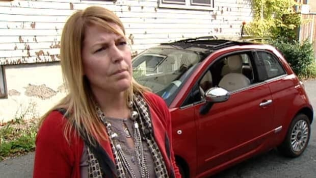 Rhonda Lynn Cormier-Clarke is questioning why the province bans personalized licence plates.