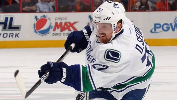 Daniel Sedin leads the Canucks with 30 goals, including a team-high 10 on the power play.