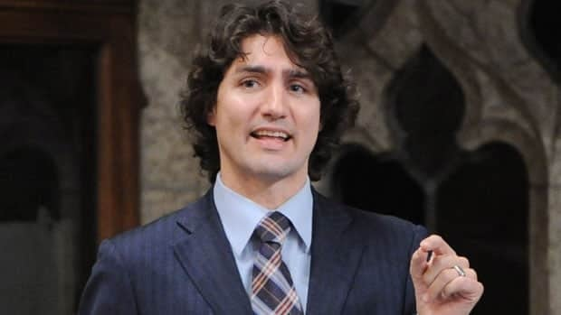 Liberal MP Justin Trudeau, shown asking a question during Question Period in the House of Commons on Parliament Hill in Ottawa in March, is reportedly going to announce he will enter the party's leadership race.