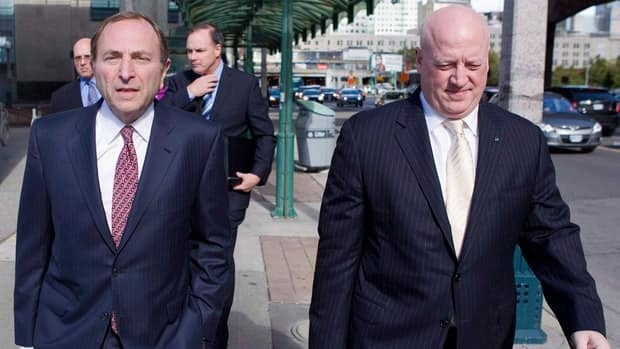 NHL commissioner Gary Bettman, left, and deputy Bill Daly must recognize the need to strike while the iron is hot, writes our labour expert.