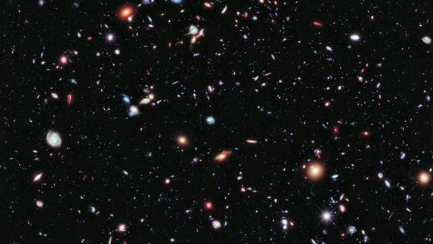 Called the eXtreme Deep Field, or XDF, the photo was assembled by combining 10 years of NASA Hubble Space Telescope photographs.