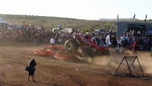 Mexico monster truck crashes into spectators