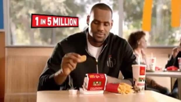 Fast Food Ads With Celebrities