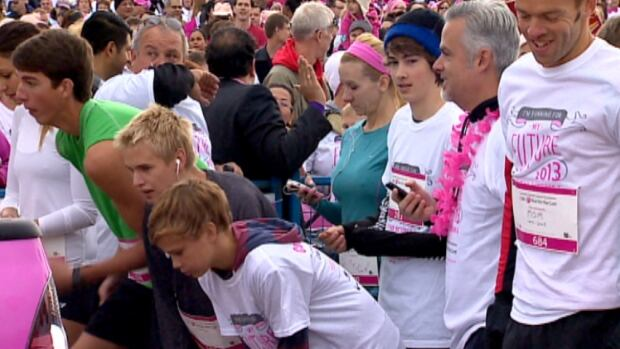 Almost 8,000 people came out for the 22nd annual Calgary CIBC Run for the Cure on Sunday.