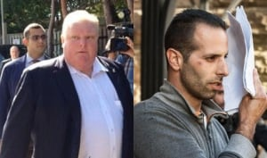 Rob Ford and Alessandro 'Sandro' Lisi