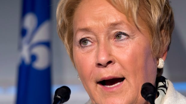 Parti Québécois leader Pauline Marois has refused to debate in English, saying she's not comfortable enough in the language.