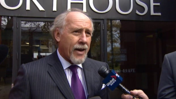 Sawyer Robison's lawyer, Brian Beresh, spoke out Monday at the Camrose courthouse, calling the second degree charge laid against his client and later dropped an act of malicious prosecution.