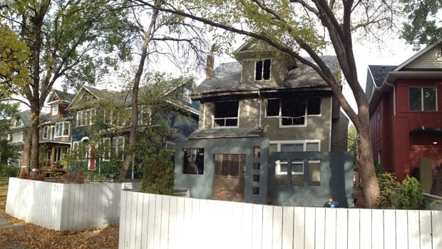 Winnipeg police are investigating after a house fire that caused $250,000 in damages ocurred after a break-in early Tuesday morning. No one was hurt.
