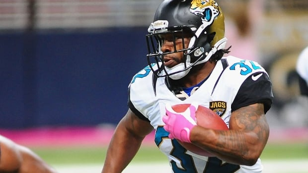 Running back Maurice Jones-Drew and the Jaguars will host the 49ers at London's Wembley Stadium on Oct. 27. Jacksonville also will be one of six teams to play a game at Wembley next season.