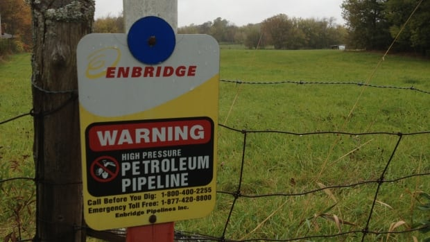 Enbridge's Pipeline 9 runs from Sarnia to Montreal, passing through cities like Kingston, Brockville and Cornwall.