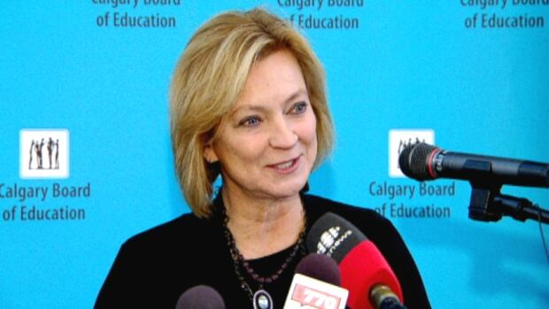 Naomi Johnson has been the chief superintendent of the Calgary Board of Education since August 2009.