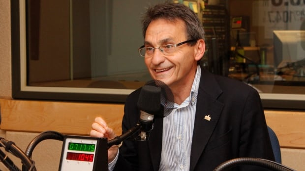 Projet Montréal leader Richard Bergeron is running for mayor of Montreal for the third time.