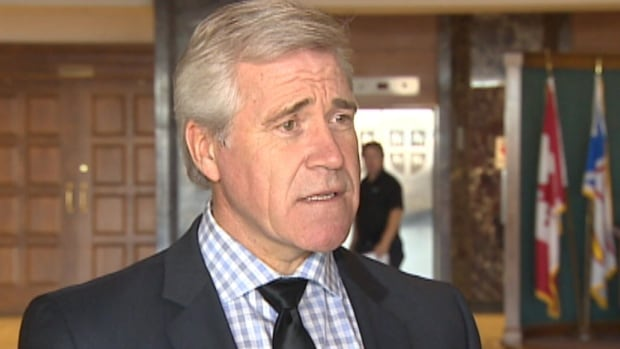 Liberal leader Dwight Ball says he's skeptical about government's promise to deliver on its unfulfilled promise for whistleblower legislation.