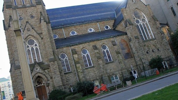 A developer is looking to tear down most of the old James Street Baptist Church in downtown Hamilton.