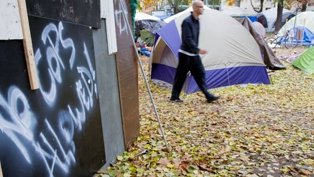 Occupy protesters in Toronto's St. James Park are facing more pressure after Mayor Rob Ford said Wednesday it was time for them to leave.