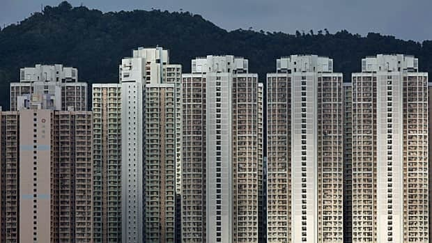 The concrete forest: public housing in Hong Kong.