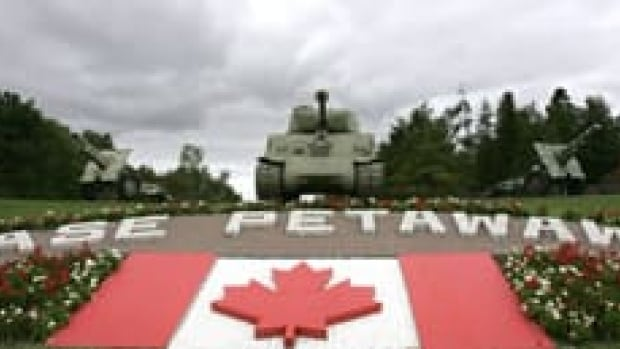 Two members of the Canadian Forces based in Petawawa, Ont., are accused of defamatory libel related to comments posted on Facebook.