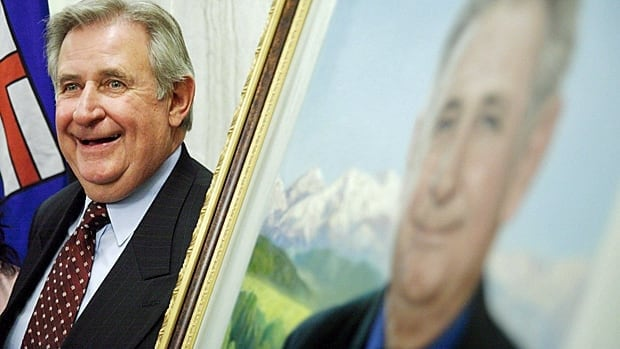 Colleen Klein, the wife of former Alberta premier Ralph Klein, above, has confirmed that he has a form of dementia.