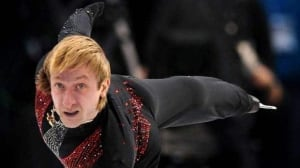 Evgeni Plushenko won silver at the 2010 Olympics in Vancouver. He was the champion in 2006.