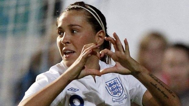 England's Fara Williams is one player New Zealand will have to keep close tabs on.
