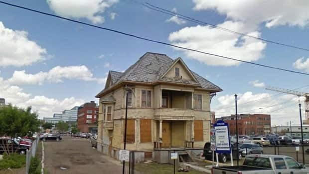 The Enoch Sales house will be moved a few dozen metres west and converted into a restaurant.