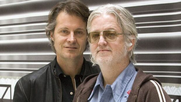 Jim Cuddy and Greg Keelor joined Alan Neal at the Ottawa International Writers Festival to share stories behind the songs on their album Five Days in July.