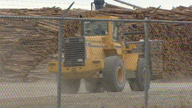 The Deersdale sawmill is closing because it can't get enough wood.