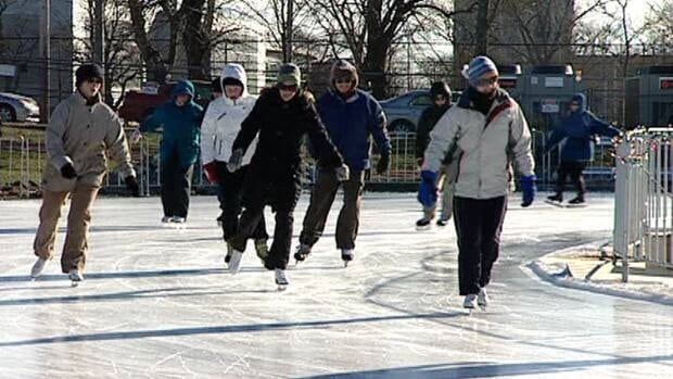 Skaters enjoy the oval on the Halifax Common last winter.