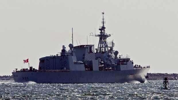 HMCS Charlottetown returned fire after being shot at by Libyan forces.