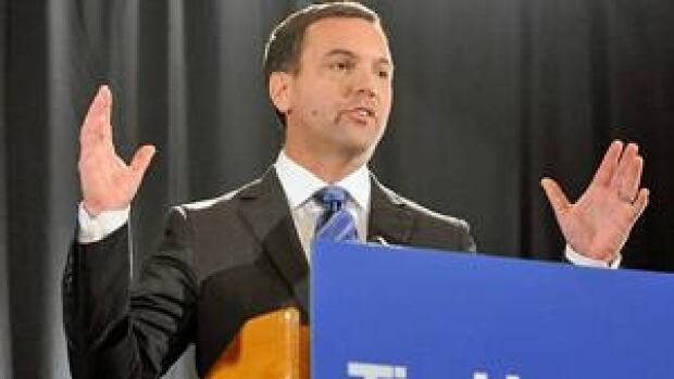 """Ontario Conservative Leader Tim Hudak Hudak is taking the Liberals to task for the """"horror show"""" that is the Criminal Injuries Compensation Board."""