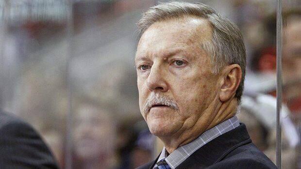 Ron Wilson has a 637-546-101-88 coaching record with Anaheim, Washington, San Jose and Toronto.