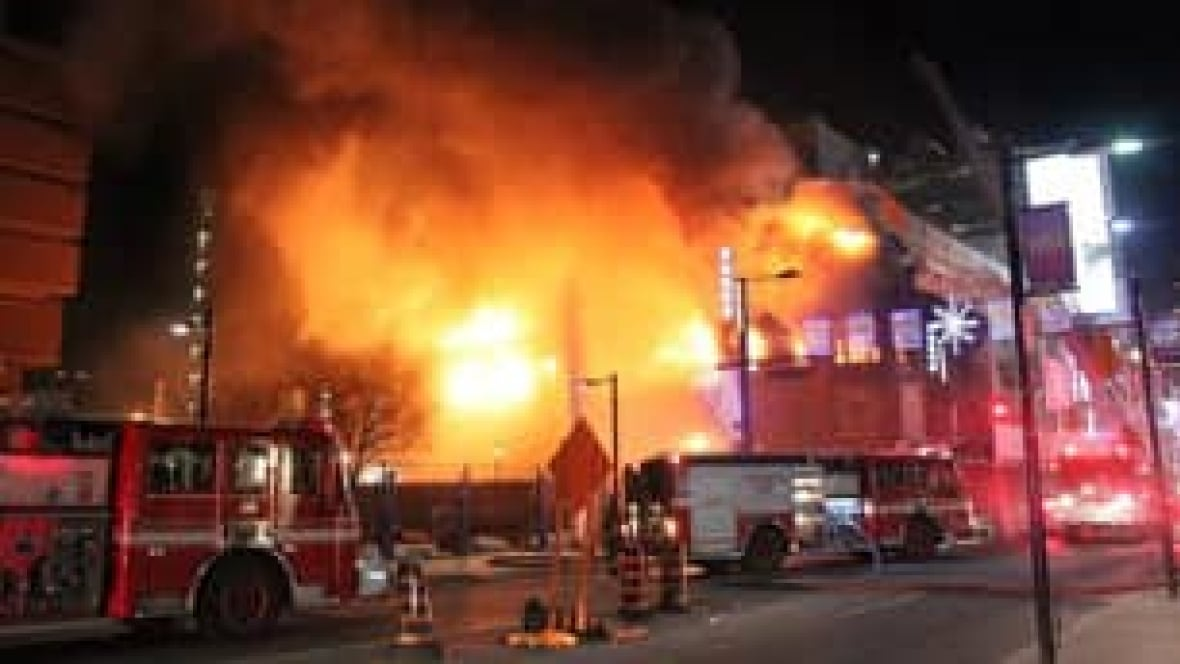 historic toronto building gutted by blaze - toronto