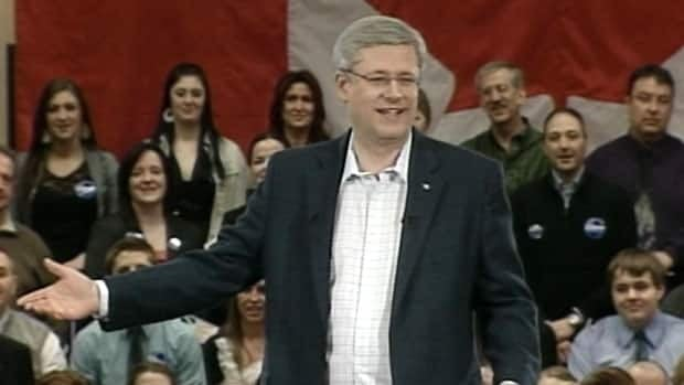 Stephen Harper says his government will provide a loan guarantee to the Lower Churchill project, if it meets three criteria.