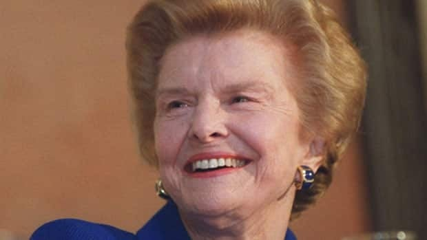 Betty Ford shown at the Amway Grand Plaza in Grand Rapids, Mich. in 2000, has died at the age of 93.