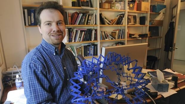 Astronomer Adam Riess shares the 2011 Nobel Prize in Physics. The trio of U.S.-born researchers were honoured Tuesday for the discovery of the accelerating expansion of the universe through observations of distant supernovas.