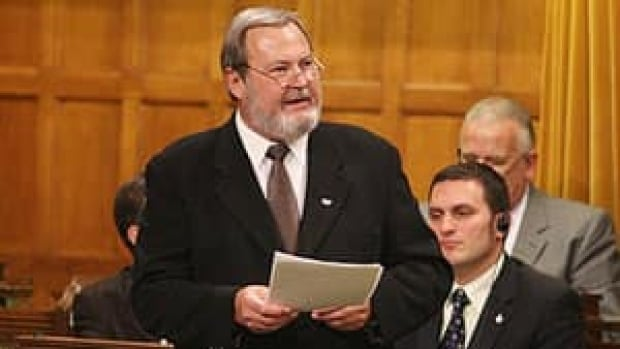 Conservative MP Peter Goldring resigned from caucus Monday because of police charges against him.
