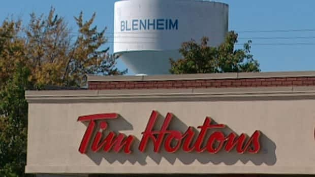 Two lesbians claim they were told to leave a Tim Hortons or the police would be called.