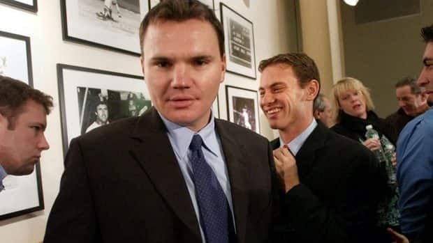 Ben Cherington, centre, served as Boston's co-GM during the three-month period after the 2005 season when Epstein walked away from the Red Sox.