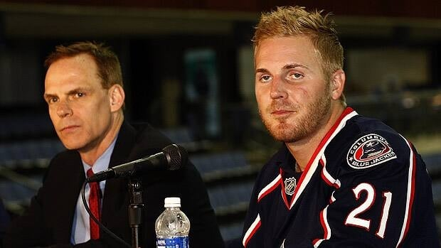 Columbus general manager Scott Howson made the signing of James Wisniewski a priority in the summer, but the defenceman's debut was delayed by a suspension.