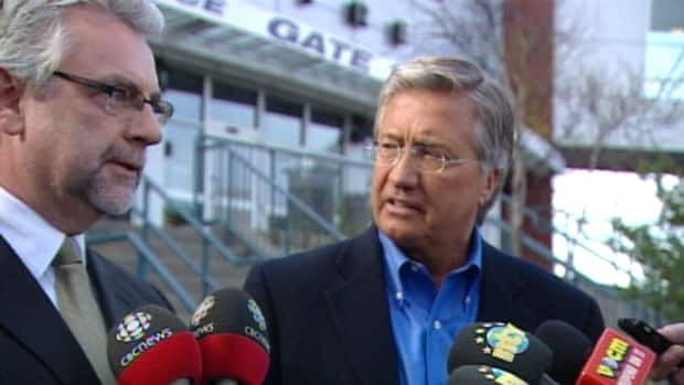 Coun. Danny Breen and former premier Danny Williams announced a tentative deal to bring an AHL franchise to St. John's.