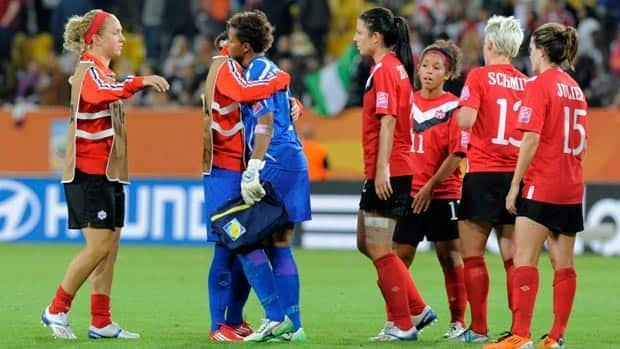 The Canadian women reflect after a 1-0 loss to Nigeria.