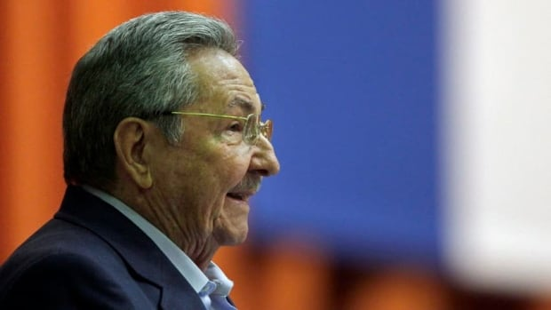 President Raul Castro delivers the closing speech during a parliamentary session in Havana, Cuba, on Friday. He told legislators the country was not yet ready to end travel bans to the United States.