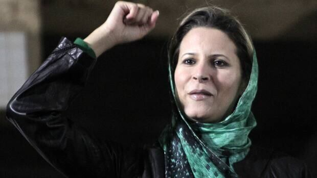 Aisha Gadhafi, daughter of Libyan leader Moammar Gadhafi, filed lawsuits in Paris and Brussels over the NATO bombing raids over Tripoli.