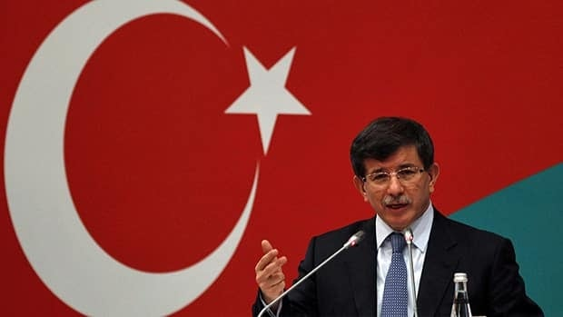 "Turkey's Foreign Minister Ahmet Davutoglu said Syria ""must open its doors to observers,"" during the eighth Turkish-Italian Forum in Istanbul on Friday."