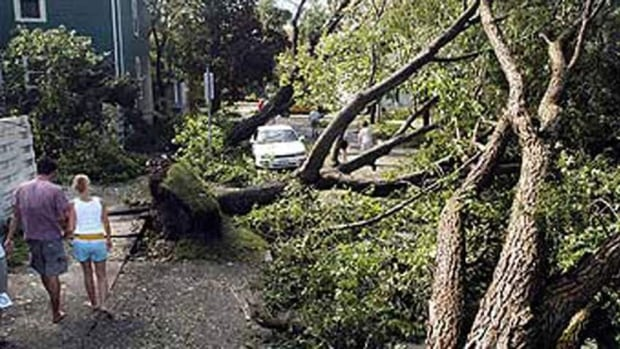 The name Juan was the first hurricane name Canada requested be retired. The 2003 storm caused millions of dollars in damage and direct deaths of two people.
