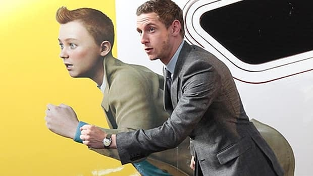 British actor Jamie Bell plays Tintin in the motion-capture animation version of the beloved comic book.