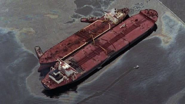 In March 26, 1989, the Exxon Baton Rouge attempted to offload crude oil from the Exxon Valdez in Alaska's Prince William Sound after a massive oil spill and one of the worst man-made environmental disasters to date. The new Liberal government said Friday that it will impose a moratorium on oil tanker traffic on B.C.'s North Coast.